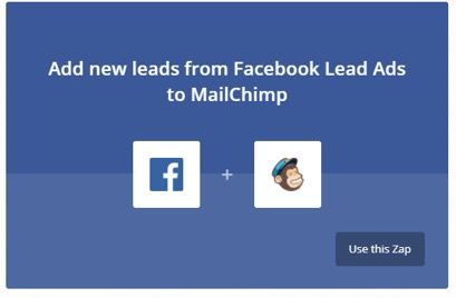 Automatización con ifttt facebook 2 y mailchimp