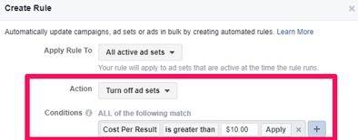 pausa ads en facebook que no esten funcionado
